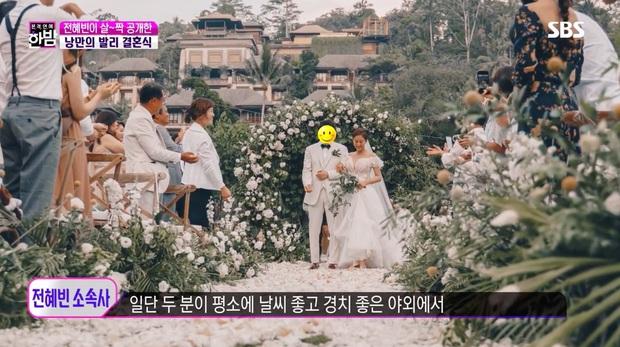 Đám cưới tình cũ Lee Jun Ki gây xôn xao MXH: Váy cưới, trang trí đẹp như cổ tích, thân thế chồng nữ minh tinh được chú ý - Ảnh 4.