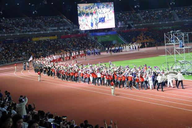 Bế mạc SEA Games 30: Việt Nam nhận cờ đăng cai Đại hội thể thao Đông Nam Á lần thứ 31 - Ảnh 17.