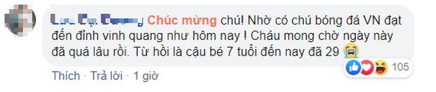 U22 Việt Nam vô địch SEA Games, fan hâm mộ không quên cảm ơn bầu Đức khi thấy ông lặng theo dõi trận chung kết qua tivi - Ảnh 11.