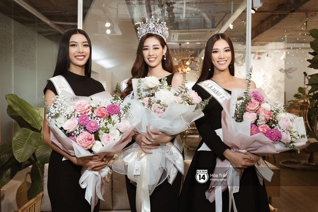 Bộ ảnh đầu tiên của Top 3 Hoa hậu Hoàn vũ sau đăng quang: Khánh Vân đẹp xuất thần, Kim Duyên và Thúy Vân sắc sảo mười phân vẹn mười - Ảnh 21.