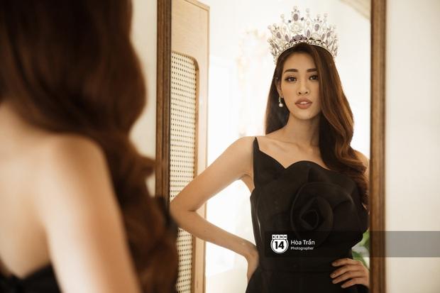 Bộ ảnh đầu tiên của Top 3 Hoa hậu Hoàn vũ sau đăng quang: Khánh Vân đẹp xuất thần, Kim Duyên và Thúy Vân sắc sảo mười phân vẹn mười - Ảnh 4.