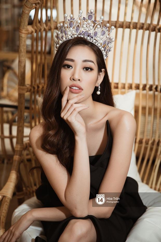 Bộ ảnh đầu tiên của Top 3 Hoa hậu Hoàn vũ sau đăng quang: Khánh Vân đẹp xuất thần, Kim Duyên và Thúy Vân sắc sảo mười phân vẹn mười - Ảnh 9.