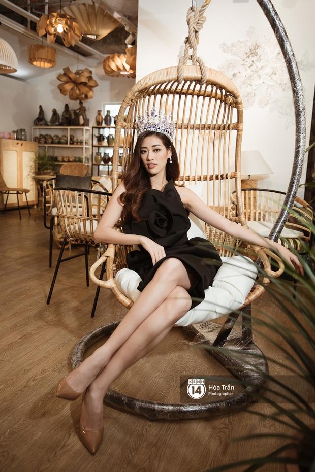 Bộ ảnh đầu tiên của Top 3 Hoa hậu Hoàn vũ sau đăng quang: Khánh Vân đẹp xuất thần, Kim Duyên và Thúy Vân sắc sảo mười phân vẹn mười - Ảnh 8.