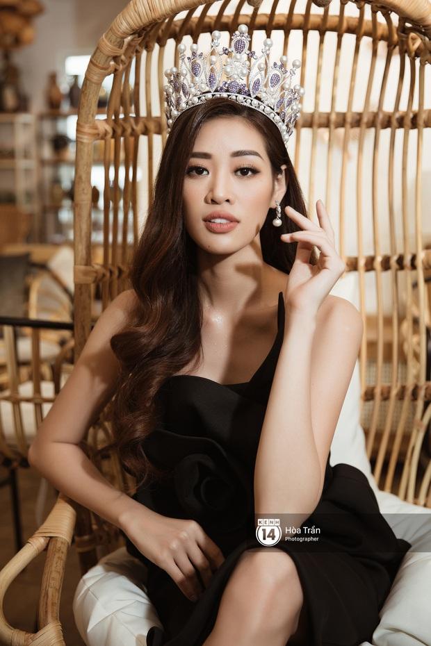 Bộ ảnh đầu tiên của Top 3 Hoa hậu Hoàn vũ sau đăng quang: Khánh Vân đẹp xuất thần, Kim Duyên và Thúy Vân sắc sảo mười phân vẹn mười - Ảnh 6.