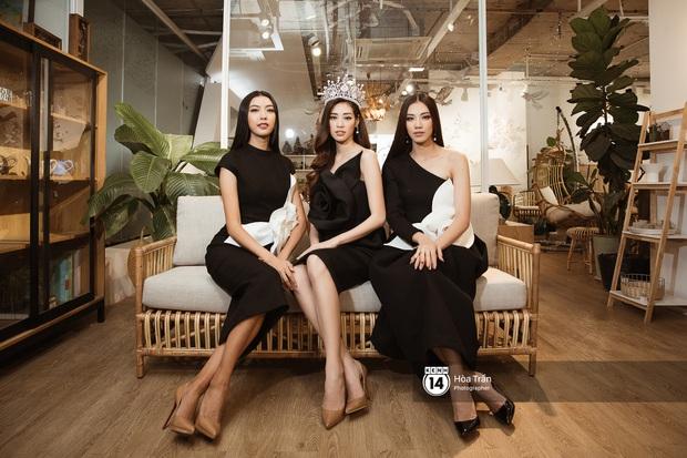 Top 3 Hoa hậu Hoàn vũ ngồi lại chia sẻ hậu đăng quang: Khánh Vân không muốn làm bản sao, Thúy Vân và Kim Duyên buồn vì không có vương miện! - Ảnh 7.