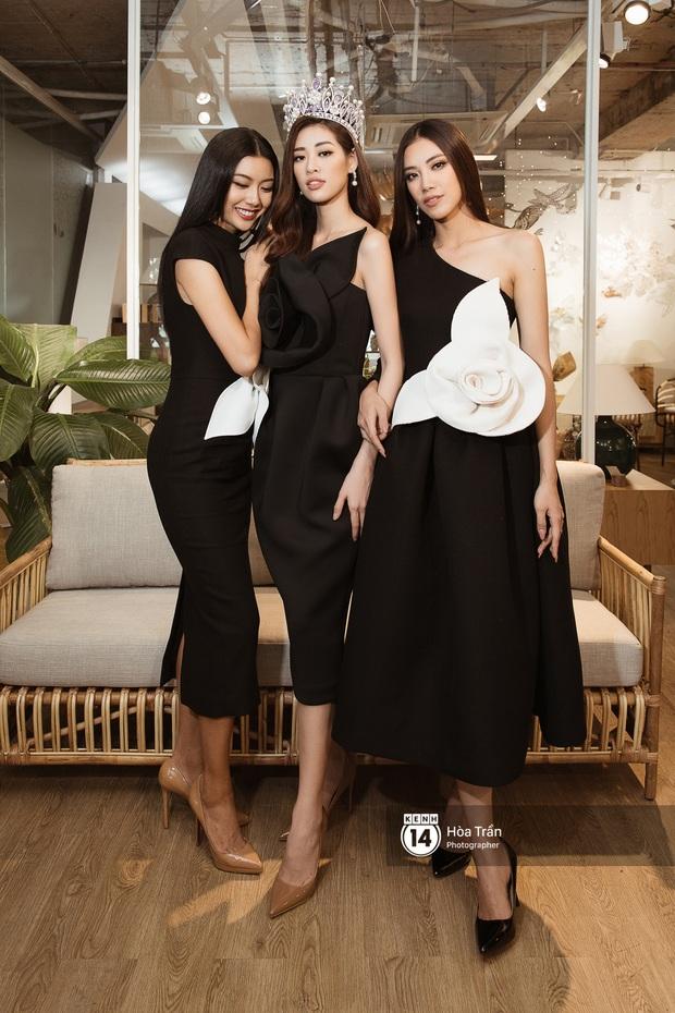 Bộ ảnh đầu tiên của Top 3 Hoa hậu Hoàn vũ sau đăng quang: Khánh Vân đẹp xuất thần, Kim Duyên và Thúy Vân sắc sảo mười phân vẹn mười - Ảnh 3.