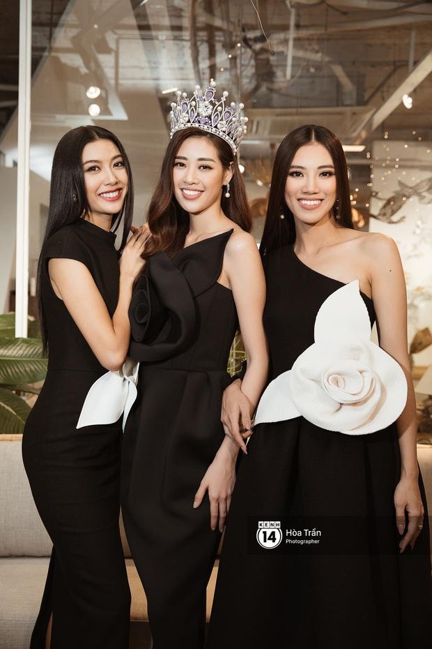 Bộ ảnh đầu tiên của Top 3 Hoa hậu Hoàn vũ sau đăng quang: Khánh Vân đẹp xuất thần, Kim Duyên và Thúy Vân sắc sảo mười phân vẹn mười - Ảnh 2.