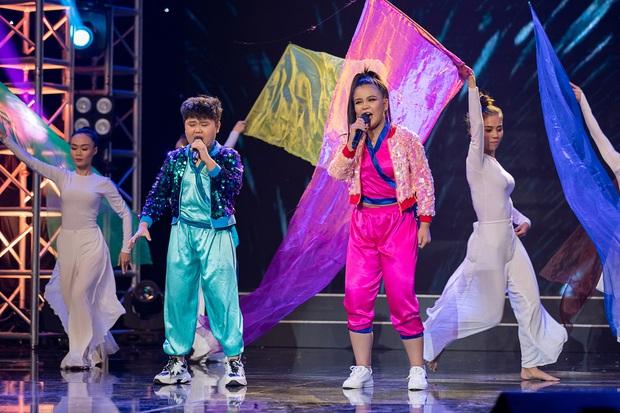 Cặp đôi vàng nhí: Long Nhật nhún nhảy không ngừng khi xem hot boy lai Hàn trình diễn hit Big Bang - Ảnh 10.