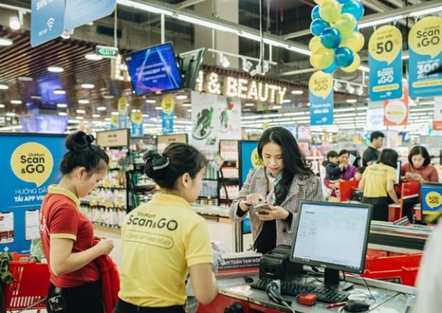 Tưởng siêu thị Vinmart Scan & Go xịn rồi, hóa ra ở Mỹ còn sang gấp bội đến mức ngỡ như phim viễn tưởng - Ảnh 1.