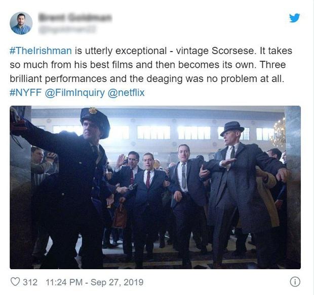 Khán giả khen hết lời The Irishman: Màn trình diễn của những già gân hay phiên bản đẫm máu của kiệt tác Forrest Gump? - Ảnh 3.