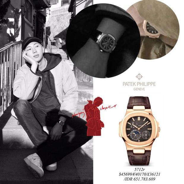 Chuyện RM (BTS) đeo đồng hồ tiền tỷ cũng không bất ngờ bằng phản ứng của cư dân mạng với việc này - Ảnh 1.