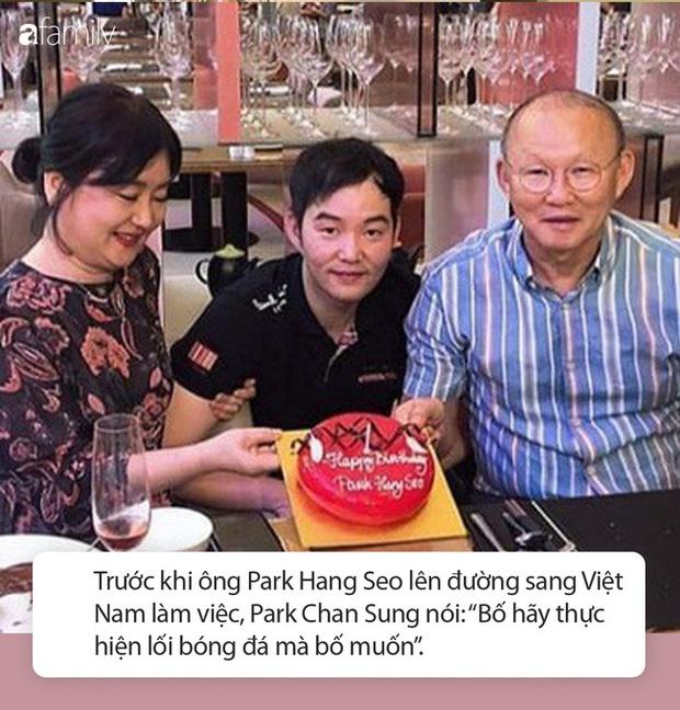 Con trai duy nhất của HLV Park Hang Seo: Từ bỏ bóng đá vì áp lực, từng nói câu đặc biệt dẫn đến thành công hiện tại của bố - Ảnh 3.