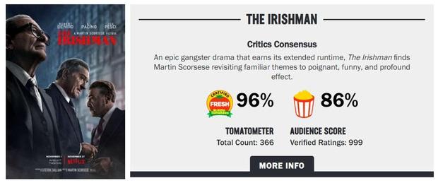 Khán giả khen hết lời The Irishman: Màn trình diễn của những già gân hay phiên bản đẫm máu của kiệt tác Forrest Gump? - Ảnh 10.