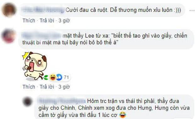 Dân mạng cười xỉu với màn trao đổi chiến thuật lộ liễu của U22 Việt Nam trên sóng truyền hình - Ảnh 3.