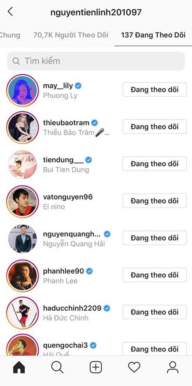 Soi instagram phát hiện: Đoàn Văn Hậu là fanboy của BLACKPINK, Tiến Linh theo dõi Phương Ly và Thiều Bảo Trâm, Đức Chinh... nhạc nào cũng nhảy - Ảnh 7.