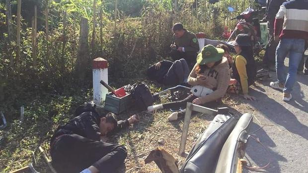 Xe chở đoàn thiện nguyện đâm vào vách núi, 2 người tử vong, 6 người bị thương - Ảnh 2.