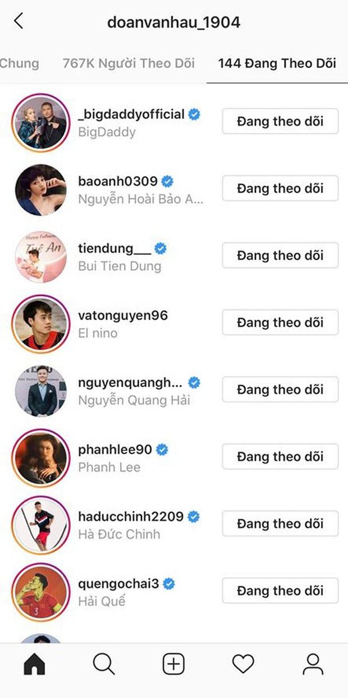 Soi instagram phát hiện: Đoàn Văn Hậu là fanboy của BLACKPINK, Tiến Linh theo dõi Phương Ly và Thiều Bảo Trâm, Đức Chinh... nhạc nào cũng nhảy - Ảnh 3.
