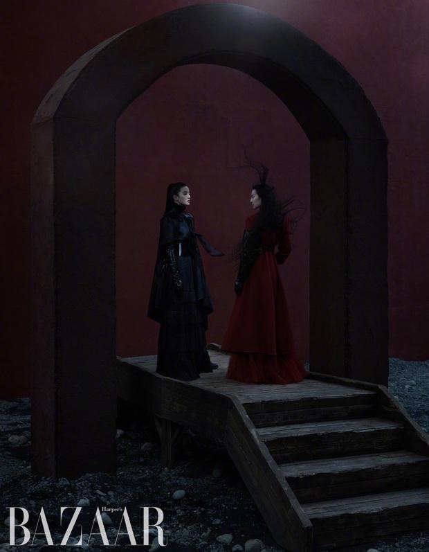 Diễn xuất bị chê bai thảm hại nhưng Lưu Diệc Phi tiếp tục gây sốt với vẻ đẹp ma mị trong loạt ảnh chụp tạp chí - Ảnh 7.