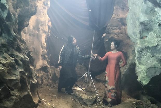 Mợ Hai Sáng Cao Thái Hà bị nghiệp quật phải sống trong hốc trong hang ở bom tấn mới nhà VTV - Ảnh 4.