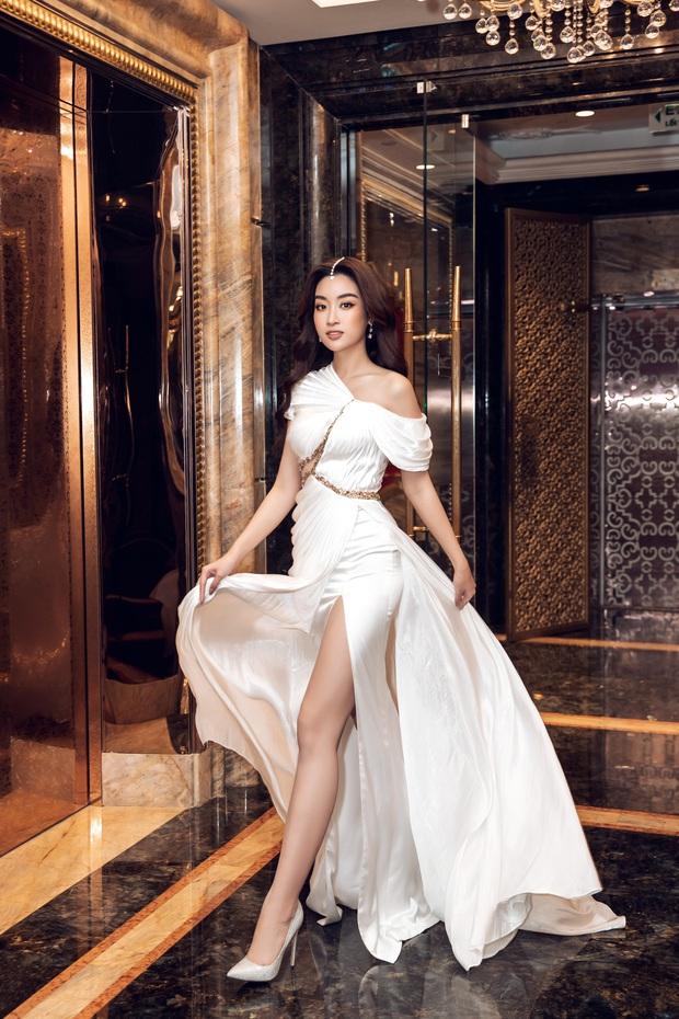 Sự kiện hội tụ cả dàn Hoa hậu quyền lực: Đỗ Mỹ Linh và Tiểu Vy hóa nữ thần, đụng độ loạt mỹ nhân Vbiz chiều cao khủng - Ảnh 1.