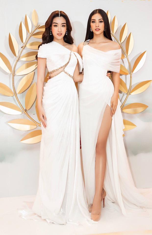 Sự kiện hội tụ cả dàn Hoa hậu quyền lực: Đỗ Mỹ Linh và Tiểu Vy hóa nữ thần, đụng độ loạt mỹ nhân Vbiz chiều cao khủng - Ảnh 5.