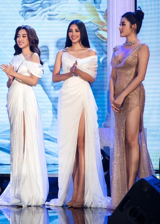 Sự kiện hội tụ cả dàn Hoa hậu quyền lực: Đỗ Mỹ Linh và Tiểu Vy hóa nữ thần, đụng độ loạt mỹ nhân Vbiz chiều cao khủng - Ảnh 7.