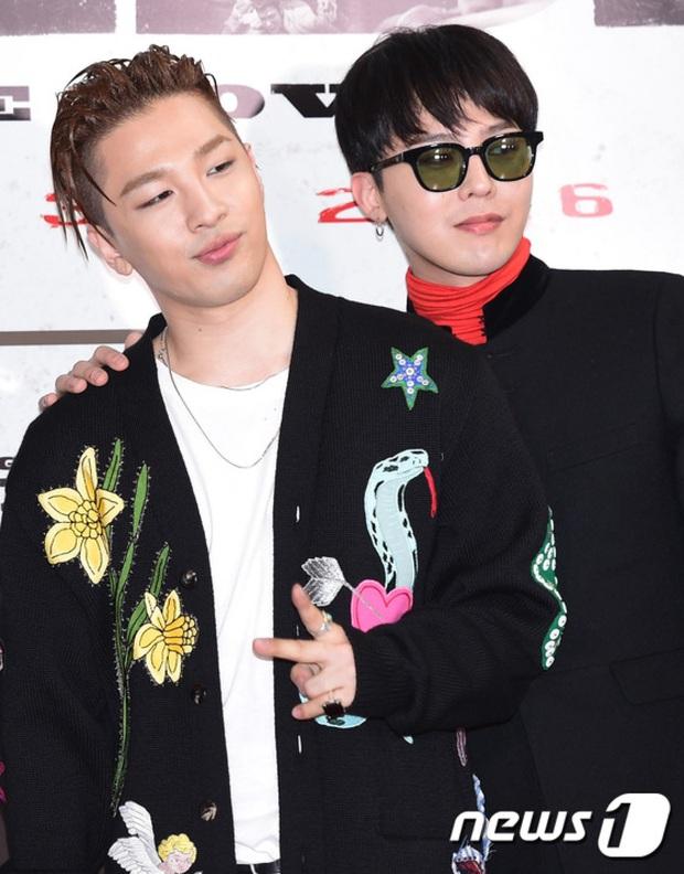 Bị YG đăng kí bản quyền tên gọi, G-Dragon và Taeyang buộc phải tái kí hợp đồng nếu không muốn mất nghệ danh? - Ảnh 1.