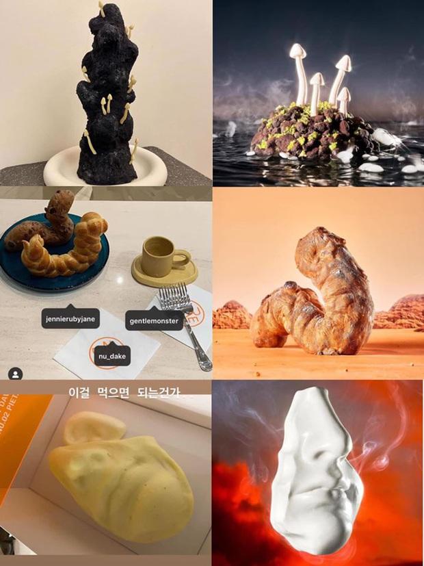 """Những chiếc bánh kem """"kỳ quái"""" nhất Jennie (BLACKPINK) từng được tặng: Là nghệ thuật thì người bình thường không hiểu được đâu! - Ảnh 2."""
