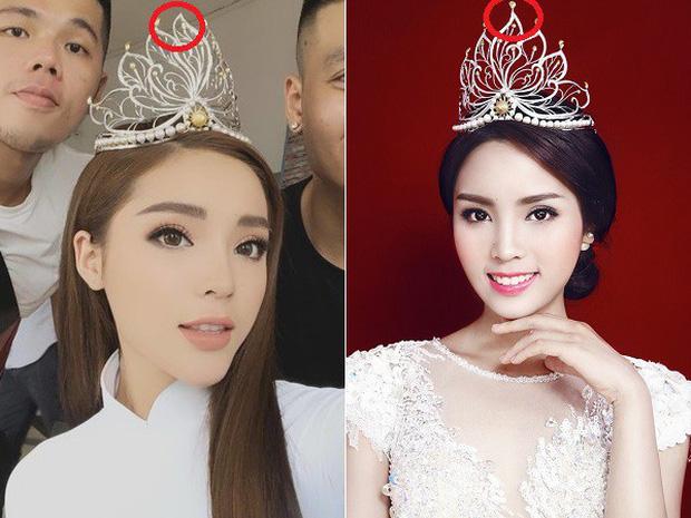 Các thánh soi phát hiện Hoa hậu Khánh Vân làm gãy vương miện chưa đầy 1 tuần sau đăng quang - Ảnh 6.