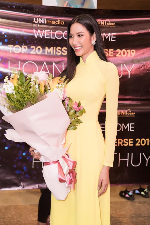 Tân Hoa hậu Khánh Vân đón Hoàng Thùy trở về từ Mỹ lúc nửa đêm sau thành tích Top 20 Miss Universe - Ảnh 2.