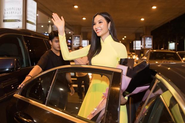 Tân Hoa hậu Khánh Vân đón Hoàng Thùy trở về từ Mỹ lúc nửa đêm sau thành tích Top 20 Miss Universe - Ảnh 14.