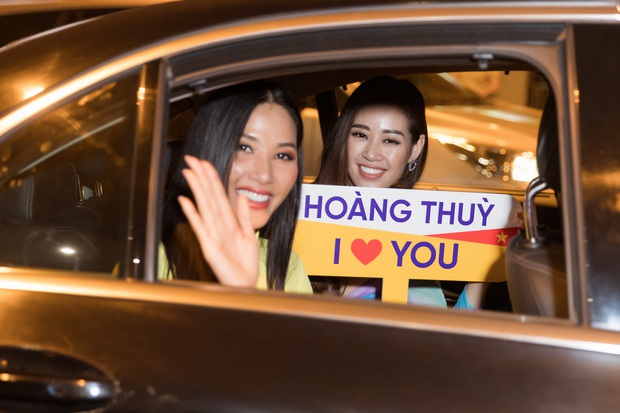 Tân Hoa hậu Khánh Vân đón Hoàng Thùy trở về từ Mỹ lúc nửa đêm sau thành tích Top 20 Miss Universe - Ảnh 12.