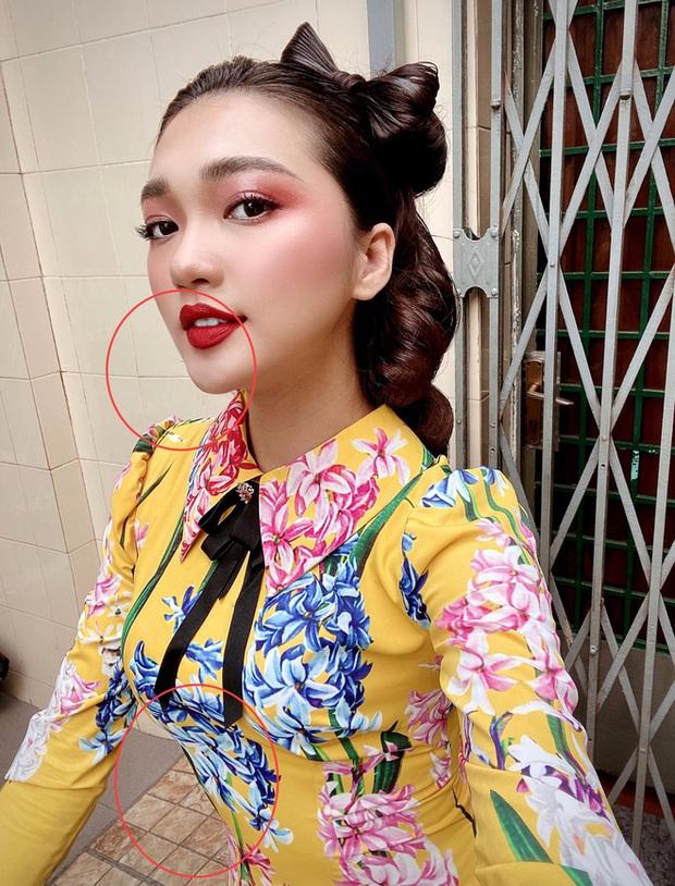 Khoe ảnh selfie xinh ngất, Ngọc Nữ để lộ bằng chứng photoshop bóp bụng và mặt: Cục gạch méo đáng ghét ghê! - Ảnh 1.