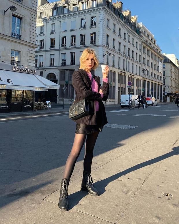 Phụ nữ Pháp diện chân váy theo 5 cách đẹp mê hồn, bạn phải học ngay đi kẻo kết thúc mùa Đông là tiếc nuối - Ảnh 11.