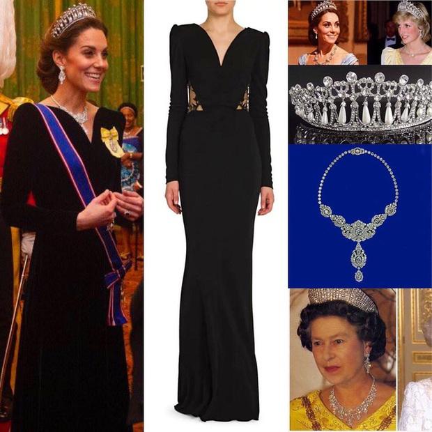 """Công nương Kate Middleton kín đáo mà vẫn đẹp """"ná thở"""" sau khi sửa váy để bớt sexy - Ảnh 3."""
