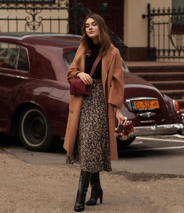 Phụ nữ Pháp diện chân váy theo 5 cách đẹp mê hồn, bạn phải học ngay đi kẻo kết thúc mùa Đông là tiếc nuối - Ảnh 5.