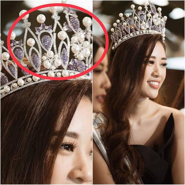 Các thánh soi phát hiện Hoa hậu Khánh Vân làm gãy vương miện chưa đầy 1 tuần sau đăng quang - Ảnh 3.