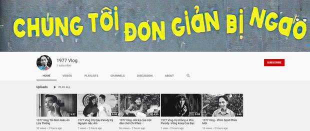 1977 Vlog giữa tâm bão: Thừa nhận không tự ẩn video, còn bị kẻ khác tranh thủ nhái YouTube y hệt - Ảnh 2.