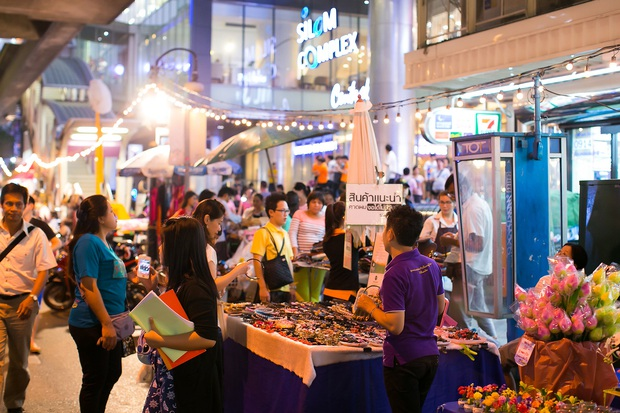 Dành cho hội nghiện đi Thái Lan: đường Silom, Khaosan và yaowarat ở Bangkok chuẩn bị thành phố đi bộ - Ảnh 5.