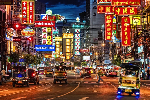 Dành cho hội nghiện đi Thái Lan: đường Silom, Khaosan và yaowarat ở Bangkok chuẩn bị thành phố đi bộ - Ảnh 1.