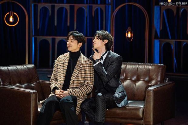 Cặp Yêu tinh – Thần chết tái ngộ trên talkshow của Lee Dong Wook: Visual đẹp ná thở lại còn tình bể bình - Ảnh 2.
