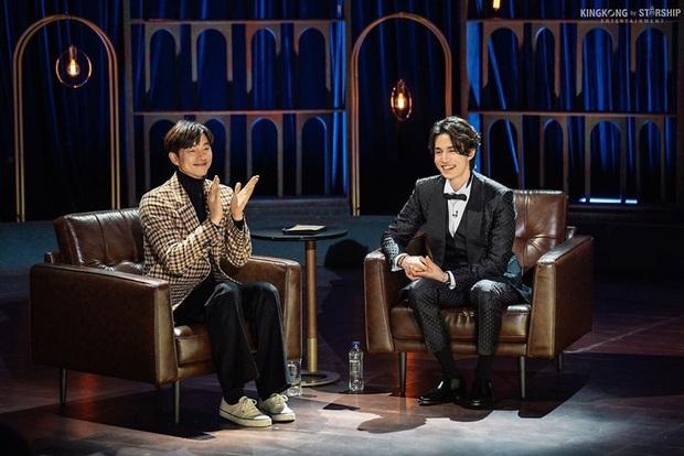 Cặp Yêu tinh – Thần chết tái ngộ trên talkshow của Lee Dong Wook: Visual đẹp ná thở lại còn tình bể bình - Ảnh 3.