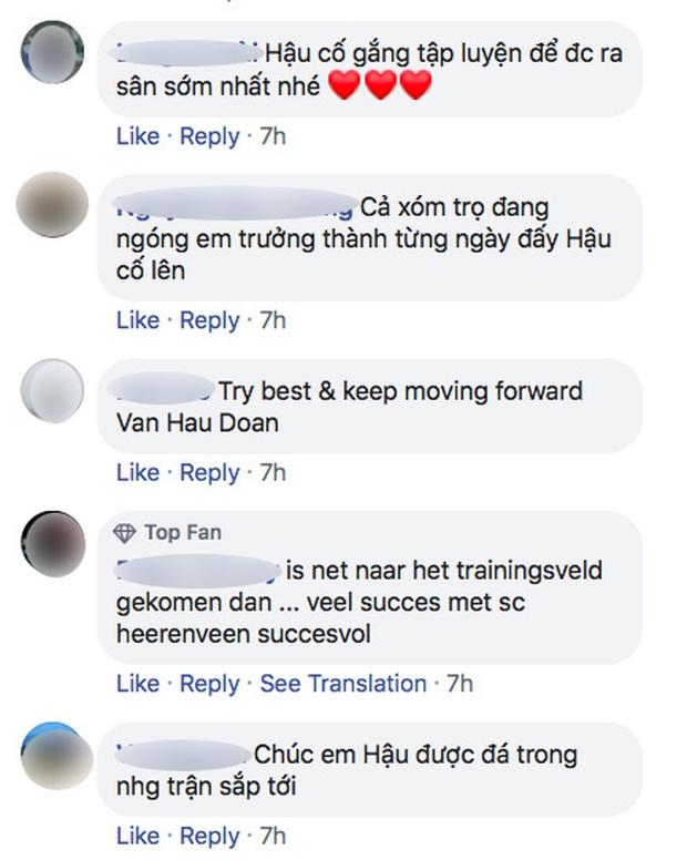 Văn Hậu tập cùng đội bóng Hà Lan ngay sau khi trở về từ SEA Games 30, ảnh đăng trên page CLB nhận bão like - Ảnh 2.