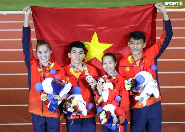 Top 10 khoảnh khắc ấn tượng nhất tại SEA Games 30 của Đoàn thể thao Việt Nam - Ảnh 2.