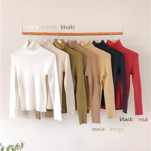 Để thăng hạng phong cách mà vẫn tiết kiệm thì kiểu gì bạn cũng phải sắm một chiếc áo len ôm cho mùa lạnh - Ảnh 11.