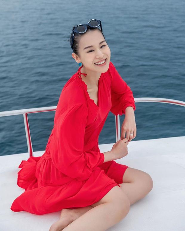 Á hậu Hong Kong Hồ Hạnh Nhi: Tuổi 40 ngày càng xinh đẹp và viên mãn - Ảnh 12.