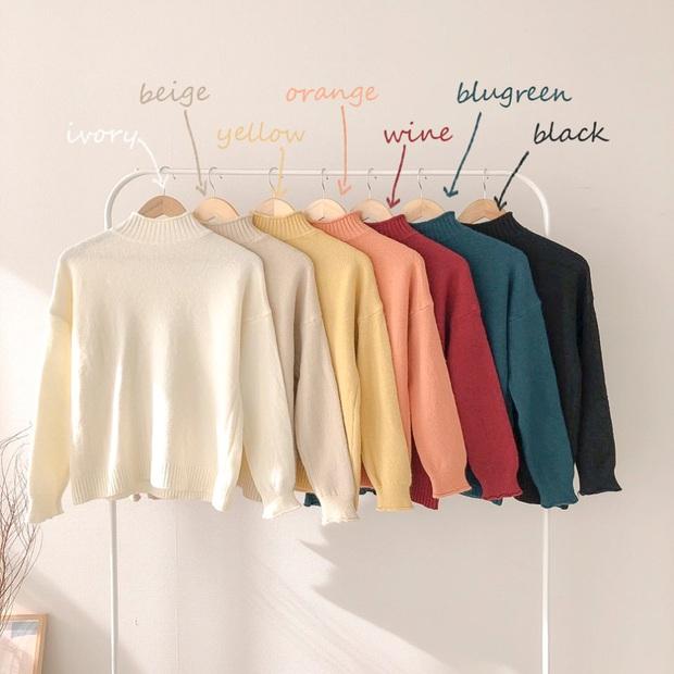 Để thăng hạng phong cách mà vẫn tiết kiệm thì kiểu gì bạn cũng phải sắm một chiếc áo len ôm cho mùa lạnh - Ảnh 9.
