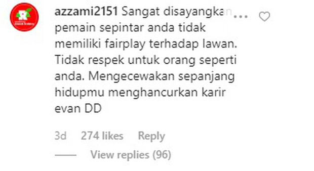 Fan Indonesia đánh chiếm Instagram của bạn gái Văn Hậu, nguyền rủa bộ đôi trai tài, gái sắc xuống địa ngục - Ảnh 2.