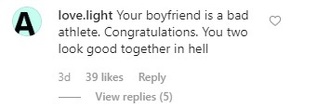 Fan Indonesia đánh chiếm Instagram của bạn gái Văn Hậu, nguyền rủa bộ đôi trai tài, gái sắc xuống địa ngục - Ảnh 3.