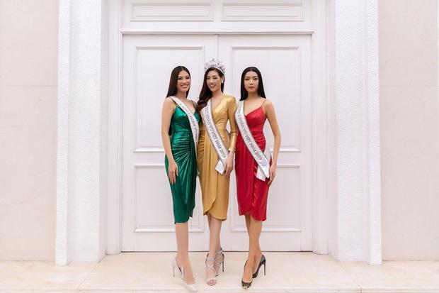 Top 3 Hoa hậu Hoàn vũ VN học style của bộ 3 Thách thức danh hài? - Ảnh 4.